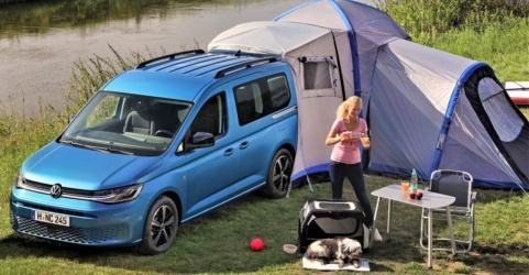 Volkswagen Caddy California camper